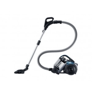 Samsung Canister Vacuum Cleaner 2100 Watt - Earth Blue, VC21F50HUDU