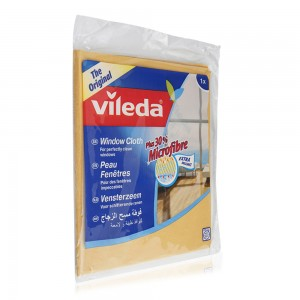Vileda Plus 30% Microfiber Window Cloth