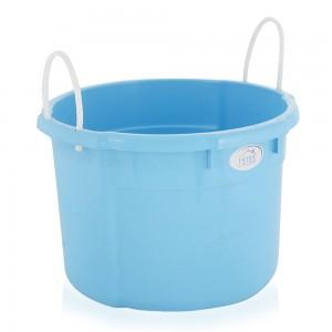 Welltex 343 Round Bucket with Handle - Blue