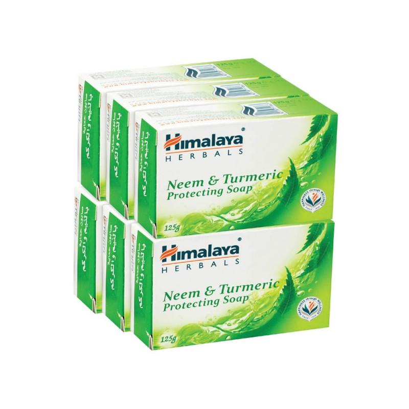 Himalaya Neem&Turmeric Soap 6x125gm