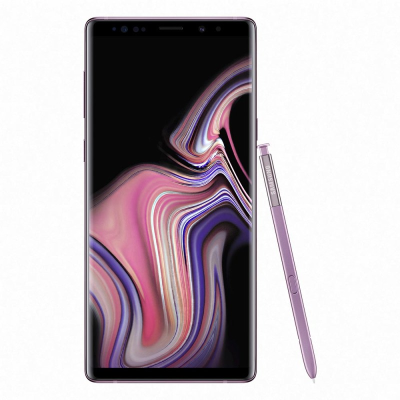 Samsung Galaxy Note 9, Lavender Purple, 512GB, SM-N960