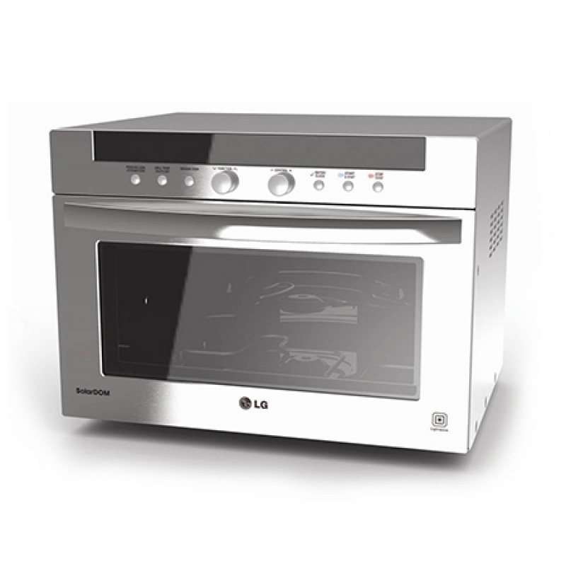 LG Microwave Oven 38L SolarDOM with Charcoal Lighting Heater, MA3884VC