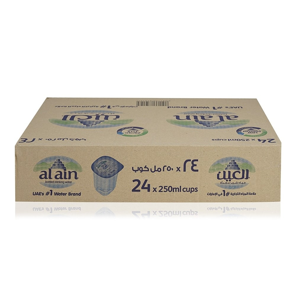 Al Ain Mineral Water Cups - 24 x 250 ml