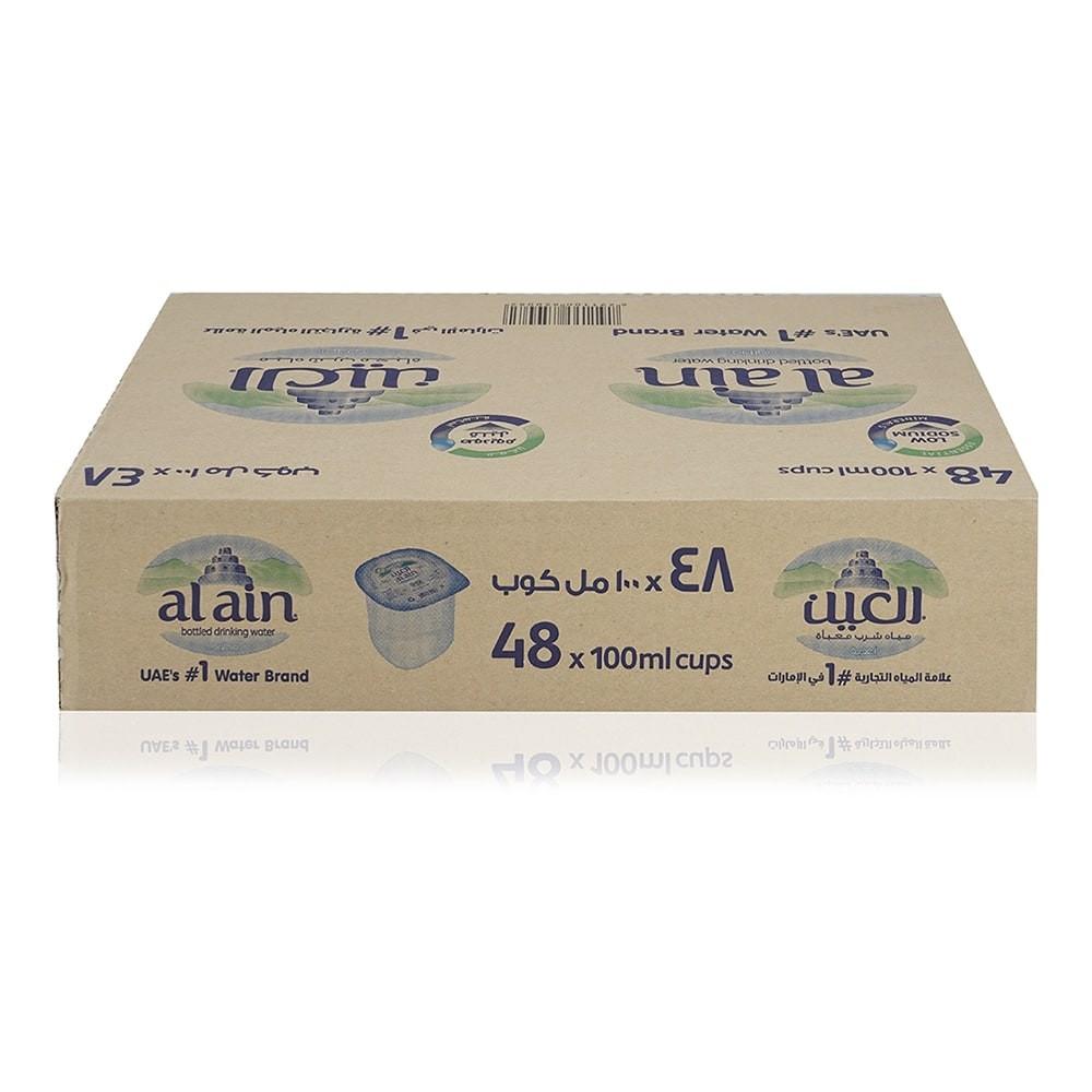 Al Ain Mineral Water Cups - 48 x 100 ml