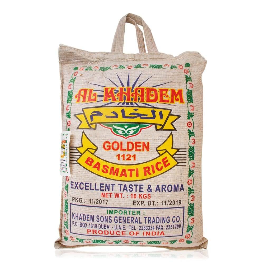 Al Khadem 1121 Golden Basmati Rice - 10 Kg