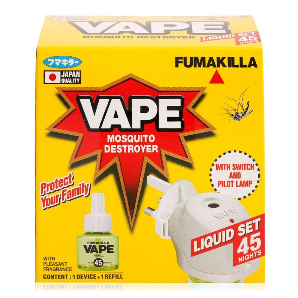 Fumakilla Vape Mosquito 45 Night Destroyer