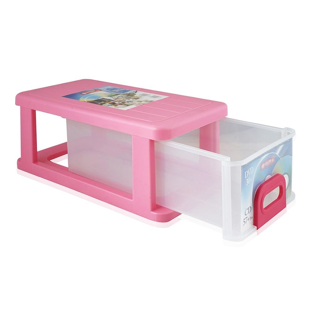 Lion Star Plastics Dvd And Cd Storage Container