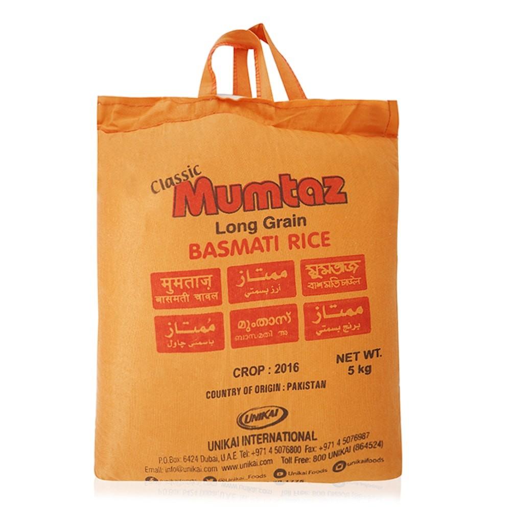 Mumtaz Long Grain Basmati Rice - 5 Kg