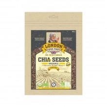 London Super Food Chia Black : Seeds : Organic, 500 gm