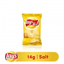 Lays Salted Potato Chips, 14g