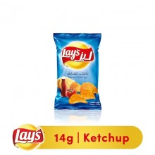Lays Ketchup Potato Chips, 14g