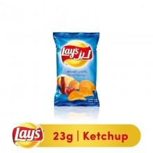 Lays Natural Tomato Ketchup Chips - 23 gm