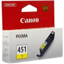 Canon CLI-451 Y InkJet Cartridge - Yellow