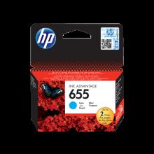 HP 655 Cyan Original Ink Advantage Cartridge (CZ110AE)