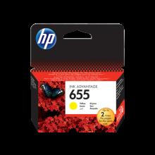 HP 655 Yellow Original Ink Advantage Cartridge (CZ112AE)
