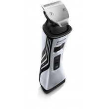 Philips QS6161 Beard Trimmer series 8000 Waterproof Shaver & Styler, Dual sided Trimmer, Cordless, Dual foil Shaver