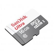 SanDisk Ultra MicroSDHC 16GB UHS-I Class 10 Memory Card