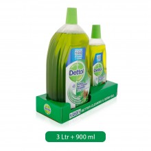 Dettol Pine Healthy Home All Purpose Cleaner 3L+900ml Free