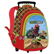 """Dino Trux School Bag 18"""" Trolley DN01-1004"""