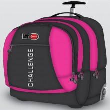 Full Stop (2450) School Bag Unicolor Trolley 3 FUBT-1065-16D