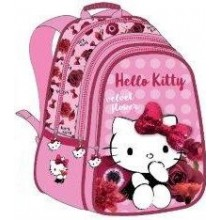 "Hello Kitty School Bag 17"" Red Velvet BackPack  HK304-1008"