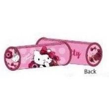Hello Kitty Pencil Case Bag Red Velvet Round HK304-623