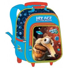 "Ice Age School Bag 15"" Trolley ICE23-1003B"