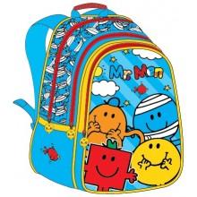 "Mr. Men School Bag 17"" BackPack  MS04-1008"