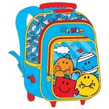"Mr. Men School Bag 15"" Trolley MS04-1003B"
