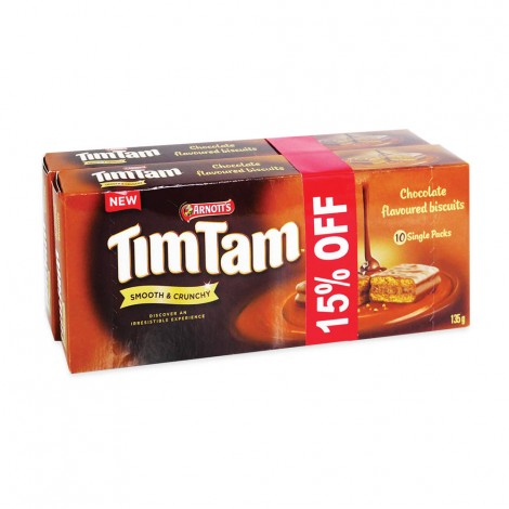 Tim Tam Chocolate Flavoured Biscuits 2x135 gm