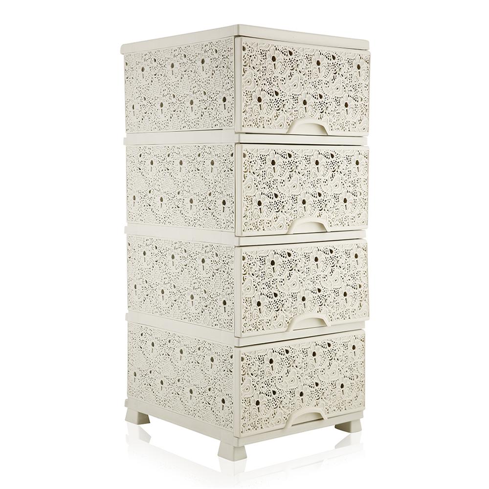 Elif 295 Storage Commode Drawer - Ivory