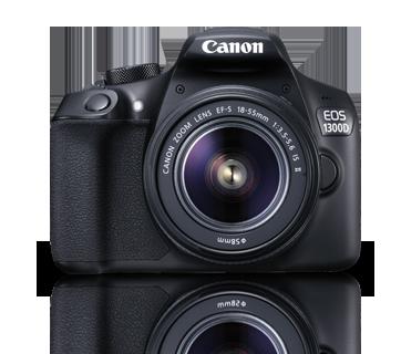 Canon DSLR Camera EOS 1300D 18-55 DC + 75-300 Lens Kit