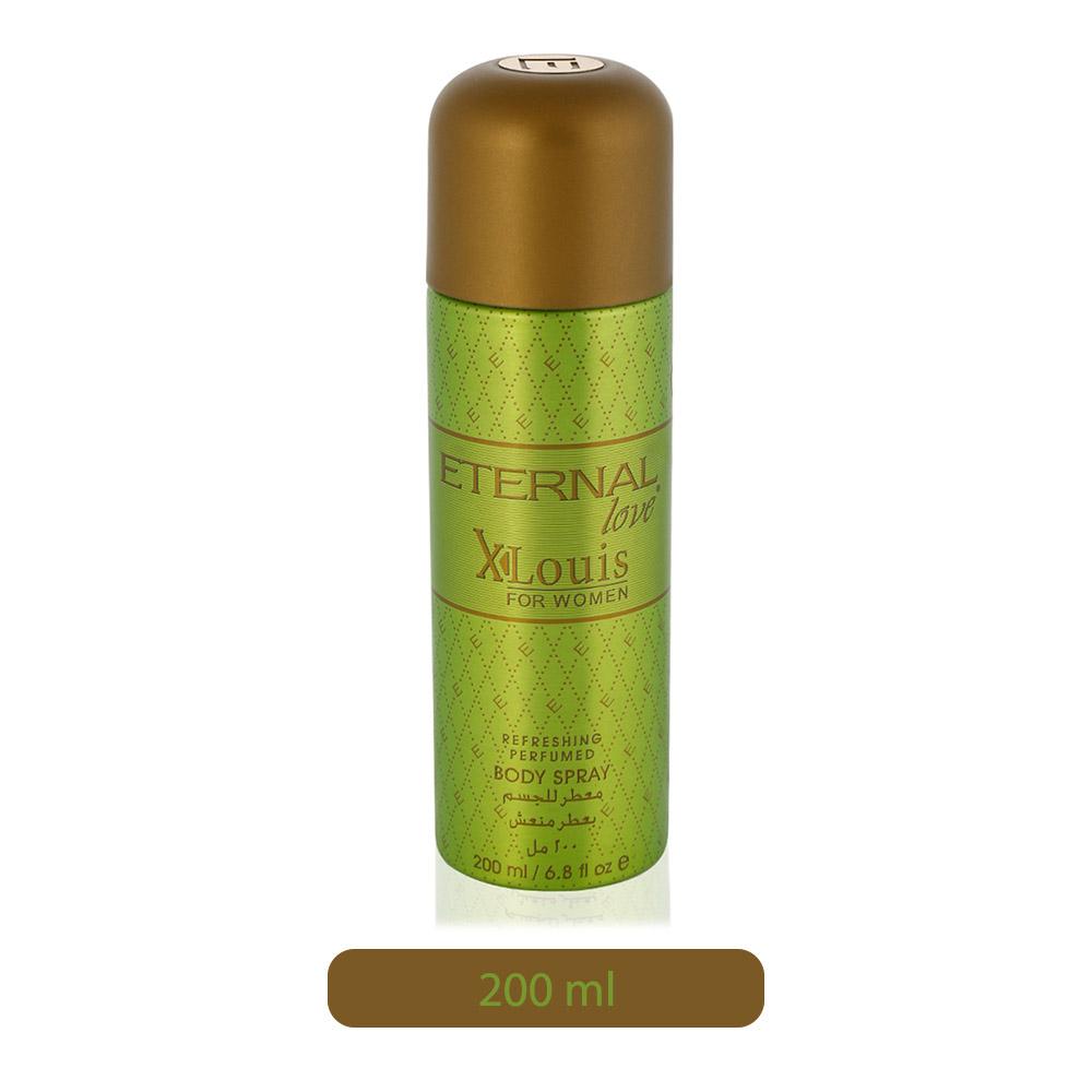 Eternal Love XLouis Refreshing Perfumed Body Spray for Women - 200 ml