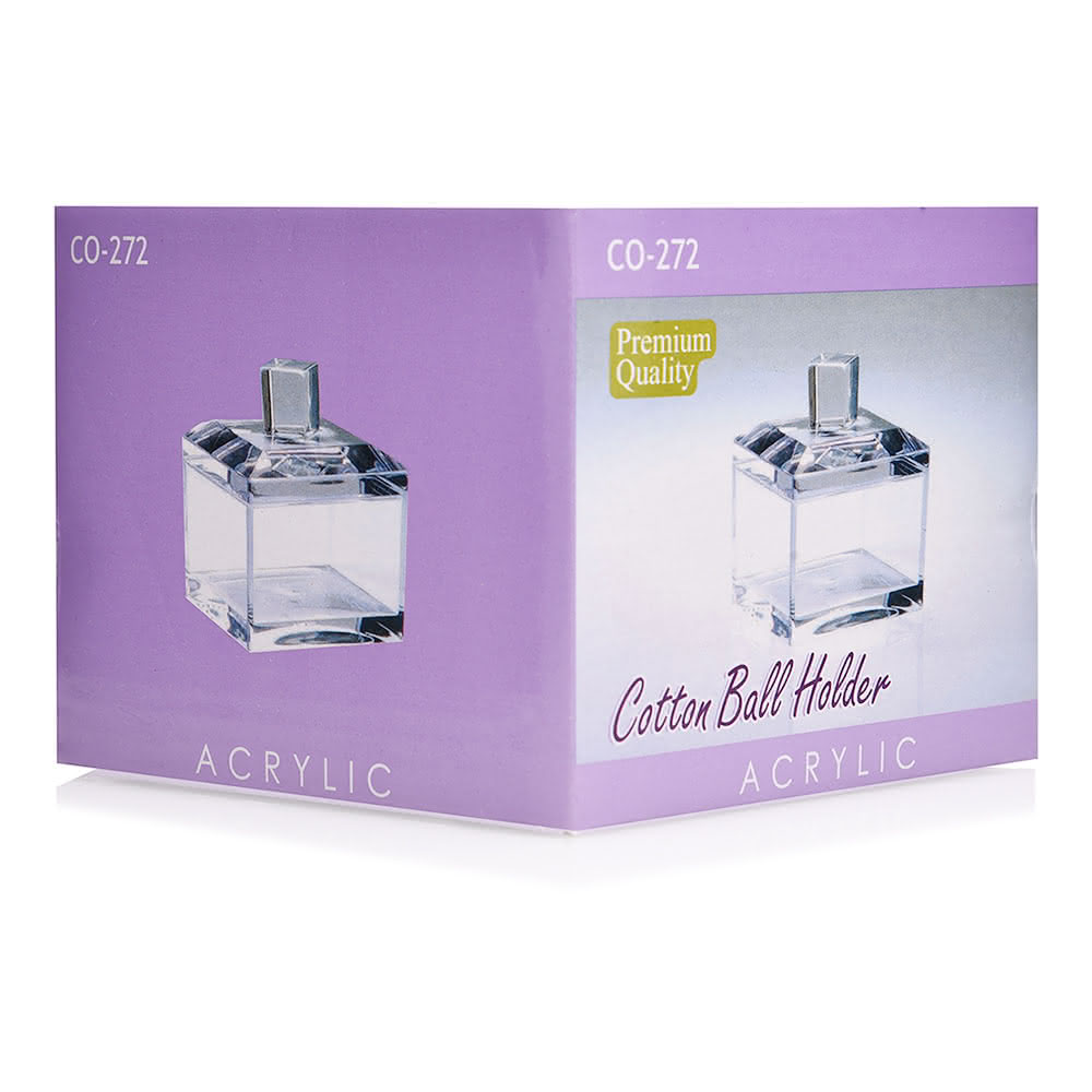 GTT Acrylic CO-272 Cotton Ball Holder