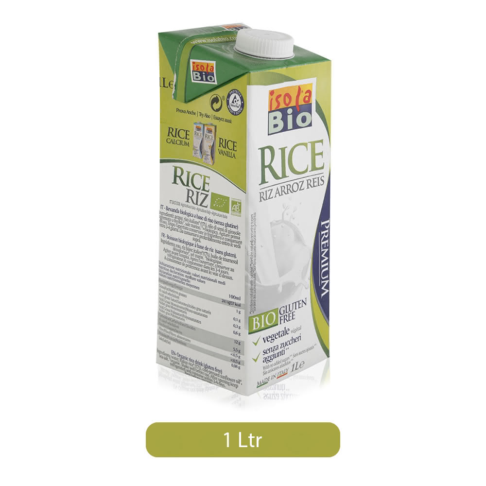 Isola Bio Organic Rice Drink - 1 Ltr