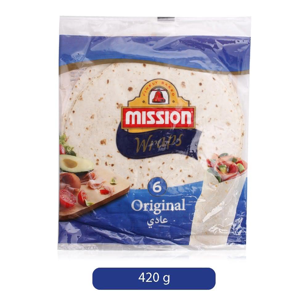 Mission Wraps Tortillas - 420 g