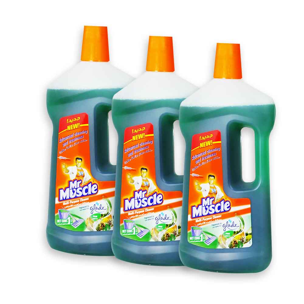 Mr Muscle All Purpose Cleaner 3 x 1Ltr