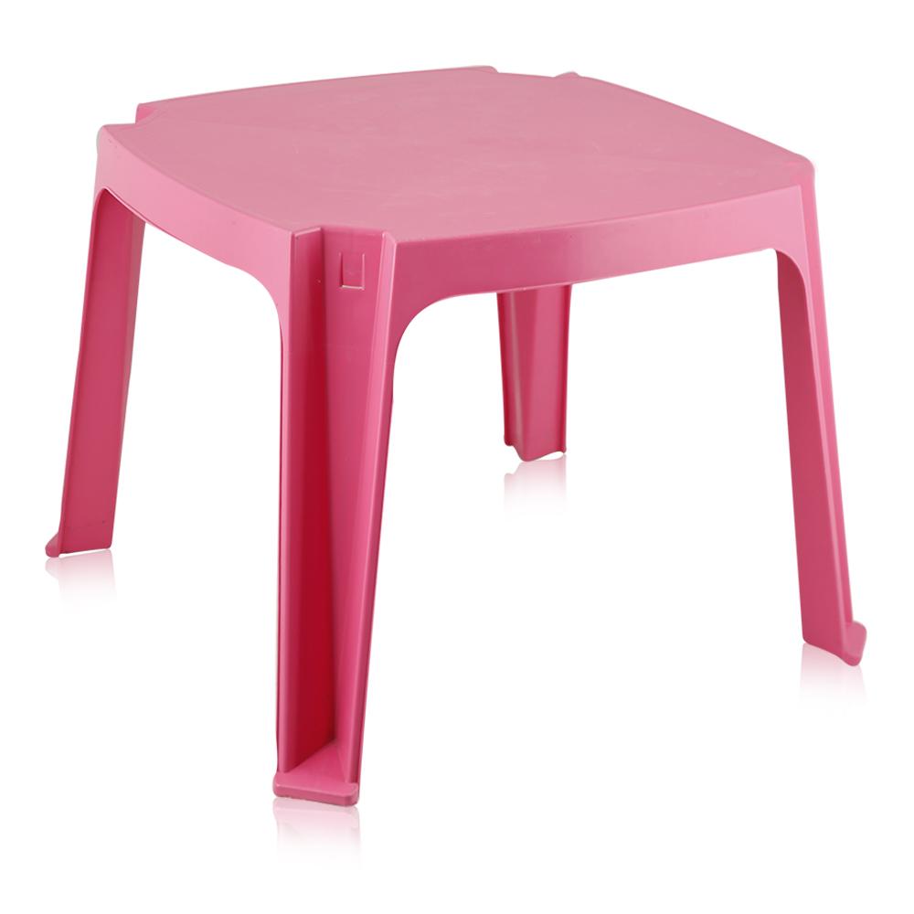 Plastiena Square Kids Table - Pink
