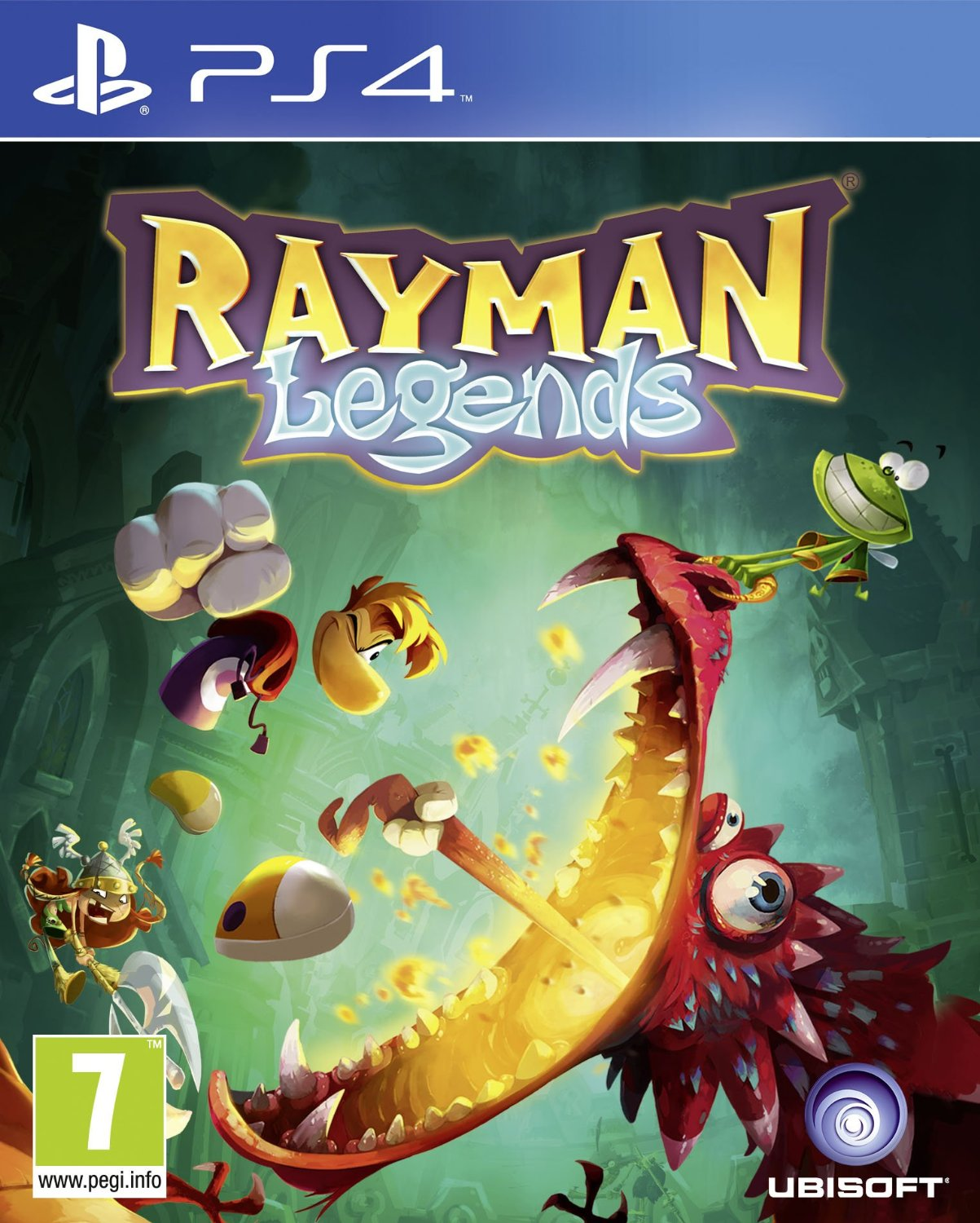 Sony Ps4  Game rayman Legends