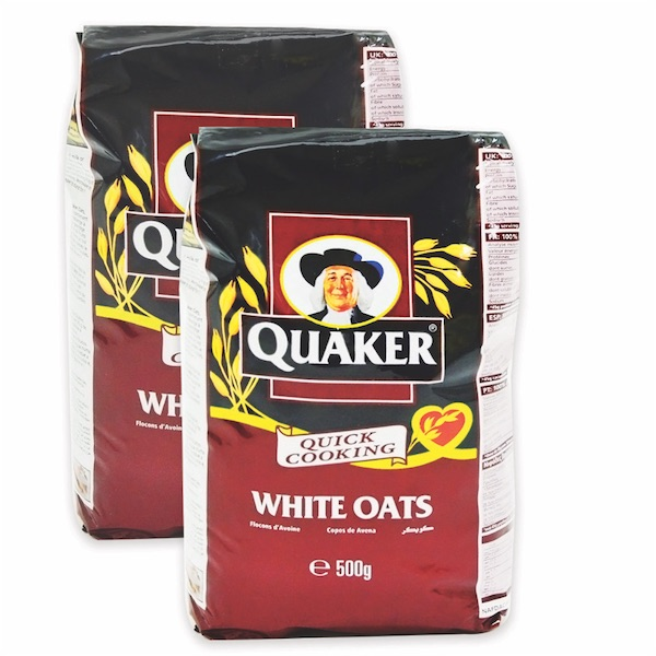 Quaker Oats 2 x 500gm