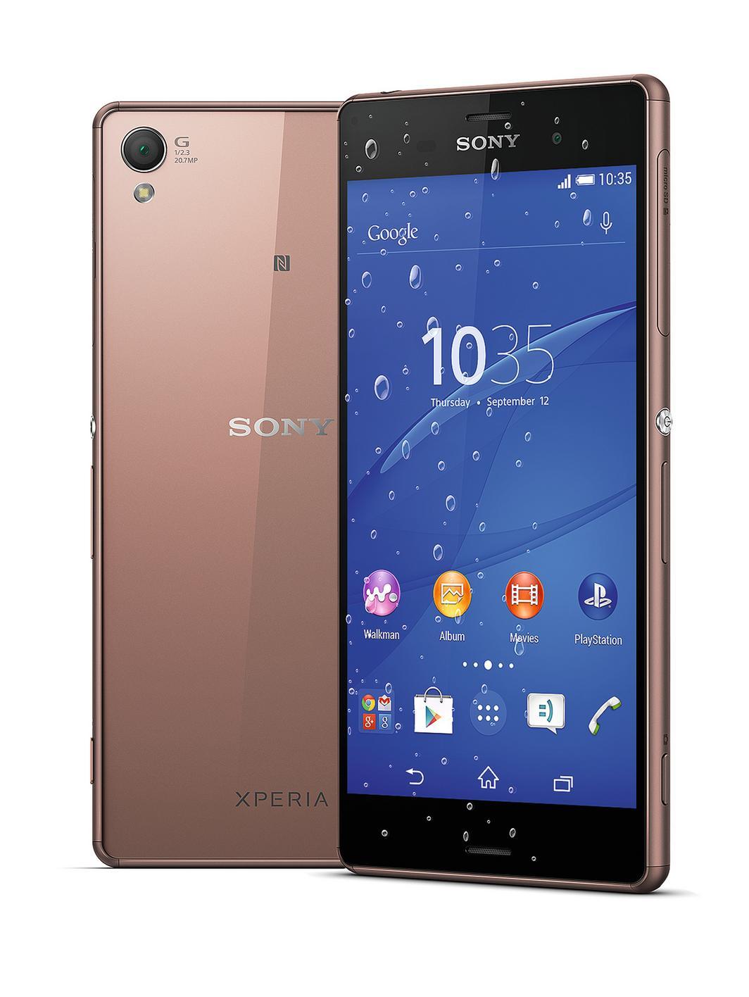 Sony Xperia Z3 Dual Sim, D6633, Copper