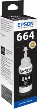 Epson Black Ink Bottle T6641