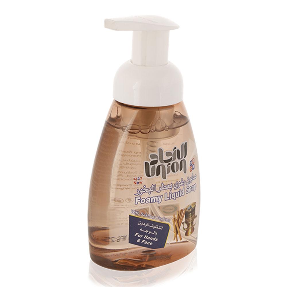 Union Foamy Liquid Soap With Bakhoor Perfume - 250 ml