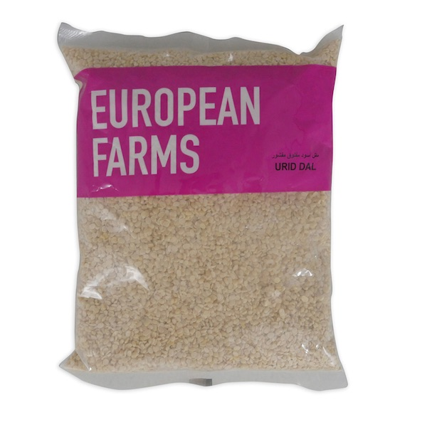 European Farms Urid Dal 400Gm