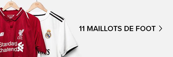 Les 11 maillots de foot qu'il te faut