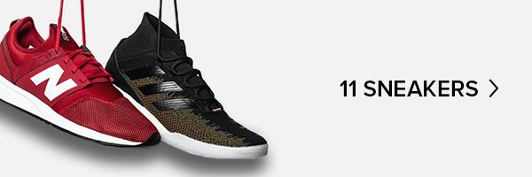 Les 11 sneakers qu'il te faut