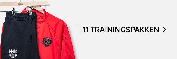11 trainingspakken die je moet zien - club trainingskleding