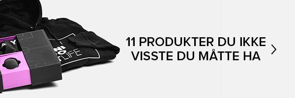 11 produkter du ikke visste du måtte ha!