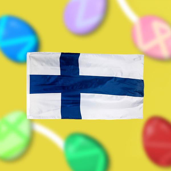 Unisport Easter Campaign Free Finnish Flag