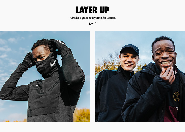 A baller's guide to layering, as well as good look on and off pitch